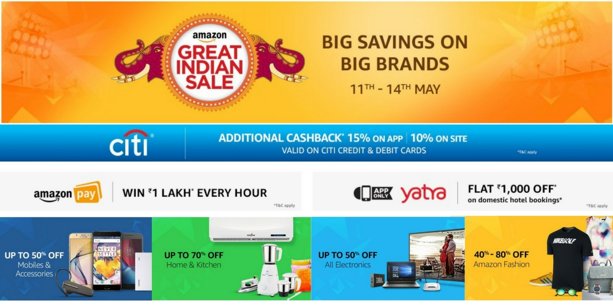 Amazon great Indian Sale 2017