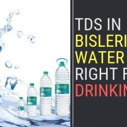 TDS in Bisleri Water